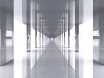 korridor long Arkivfoto