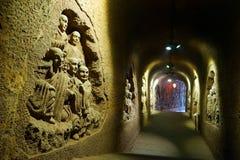 korridor long Royaltyfria Bilder