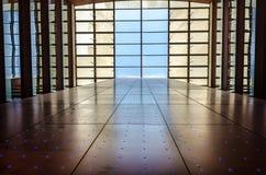 Korridor med ljus Royaltyfria Bilder