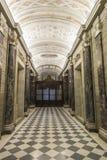 Korridor på basilikan av Vaticanen i Vaticanet City, Vat royaltyfri fotografi