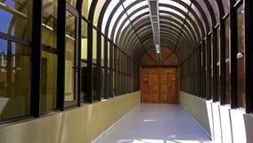 Korridor på den chilenska rådsmötet Royaltyfria Bilder