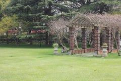 Korridor på gräset Royaltyfri Bild