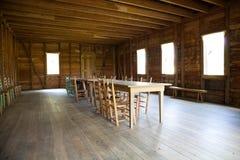 korridor som möter gammala texas Royaltyfria Bilder