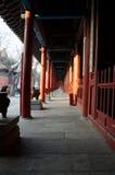Korridor von Peking Dongyue Tao Temple Lizenzfreie Stockbilder