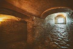Korridore, die zu oberstes Stockwerk bei Hagia Sophia, Istanbul, die Türkei führen lizenzfreie stockfotografie