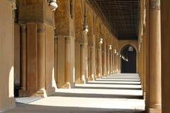 Korridore mit Arkaden Stockbild