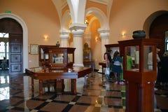 Korridoren av Matenadaran, Yerebam, Armenien Royaltyfri Fotografi