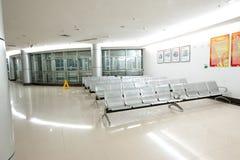 Korridoren av sjukhuset arkivfoton