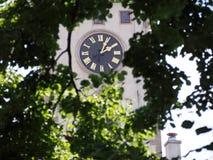 korridoren för den Australien stadsklockan lokaliserade den västra perth torntownen Royaltyfria Foton