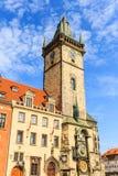 korridoren för den Australien stadsklockan lokaliserade den västra perth torntownen Prague tjeckiska Repubilc Royaltyfria Foton