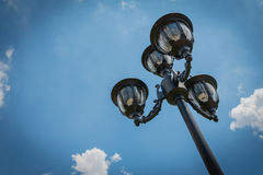 Korridorflodljus för belysning equipment Arkivfoton