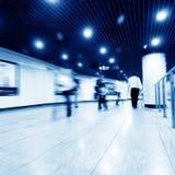 korridorfolkmassa Royaltyfri Foto