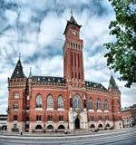 korridorhelsingborg town Arkivfoton