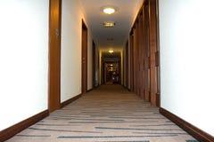 korridorhotell Royaltyfri Fotografi