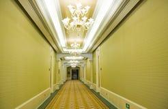 korridorhotell Arkivfoton