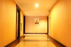 korridorhotell Arkivfoto
