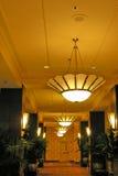 korridorhotell royaltyfria foton