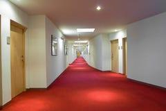 korridorhotelllyx Fotografering för Bildbyråer