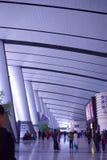 korridorjärnvägstation Arkivfoto