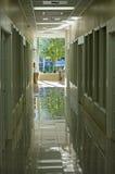 korridorkontor arkivfoton