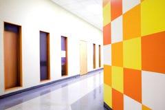 korridorkontor Arkivbild