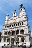 korridorpoland poznan för 16th århundrade town Royaltyfri Bild