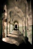 korridorquiet Arkivfoto