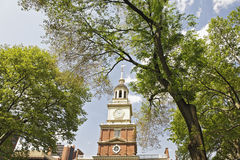 korridorsjälvständighet philadelphia Royaltyfri Fotografi