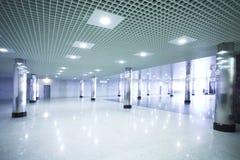 korridorstationsgångtunnel Royaltyfri Fotografi