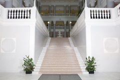 korridortrappa till arkivbild