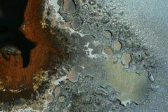 korrosion royaltyfri bild