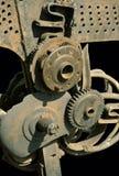 Korrosion des Metalls stockbild