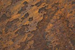 korrosionsflakes royaltyfri bild