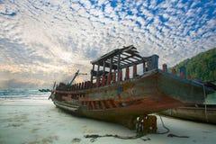 Korrosivt fartyg Royaltyfria Bilder