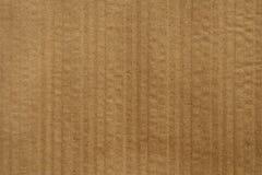 korrugerad brun papp Fotografering för Bildbyråer