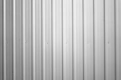 korrugerad metall Arkivbild