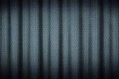 korrugerad metall för bakgrund Arkivbilder