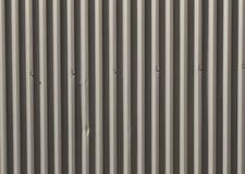 Korrugerad metallbakgrund Royaltyfria Bilder