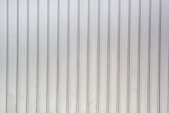 Korrugerad metalltexturyttersida, galvaniserad stålbakgrund Royaltyfria Bilder