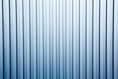 korrugerad metallvägg för bakgrund Arkivbild