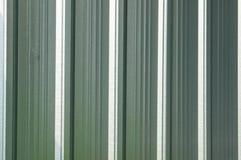 Korrugerad metallyttersida med sömlös textur för korrosion Arkivfoton