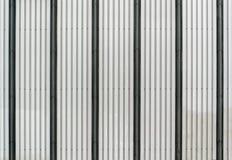 Korrugerad textur för metallark Arkivfoton