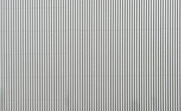 Korrugerad yttersida för metallväggtextur Arkivfoto