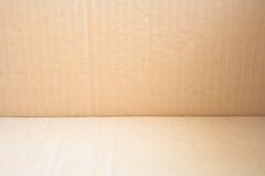 Korrugerat paketera arkivfoton