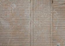 korrugerat papper för bakgrund Royaltyfri Fotografi