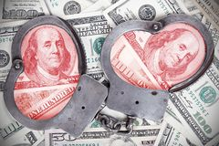 Korruption i regering royaltyfria foton