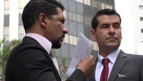 Korruption oder Büroverbrechen oder Mafia
