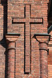 Kors av clinker Arkivbilder