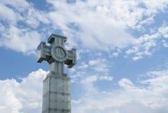 Kors av frihet i Tallin Arkivbild