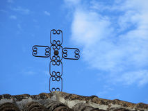 Kors av Humillity Arkivfoto